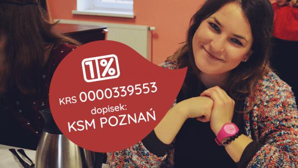 1 procent dla KSM Poznań