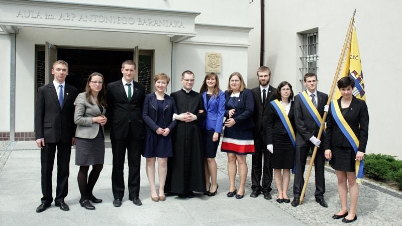 Zarząd Diecezjalny KSM 2014-2015