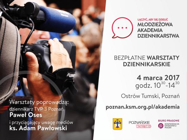 Młodzieżowa Akademia Dziennikarstwa Poznań