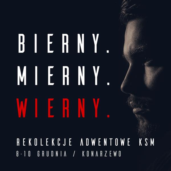 Rekolekcje adwentowe KSM Poznań 2017