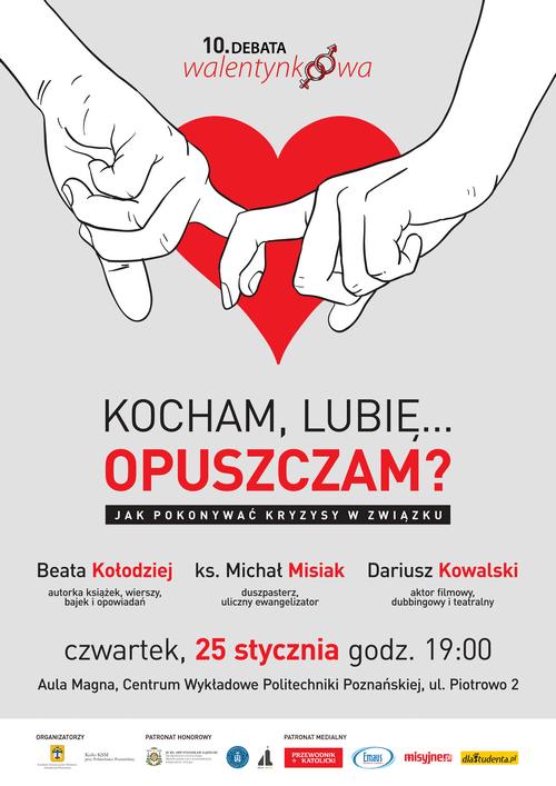 Debata Walentynkowa KSM Poznań 2018