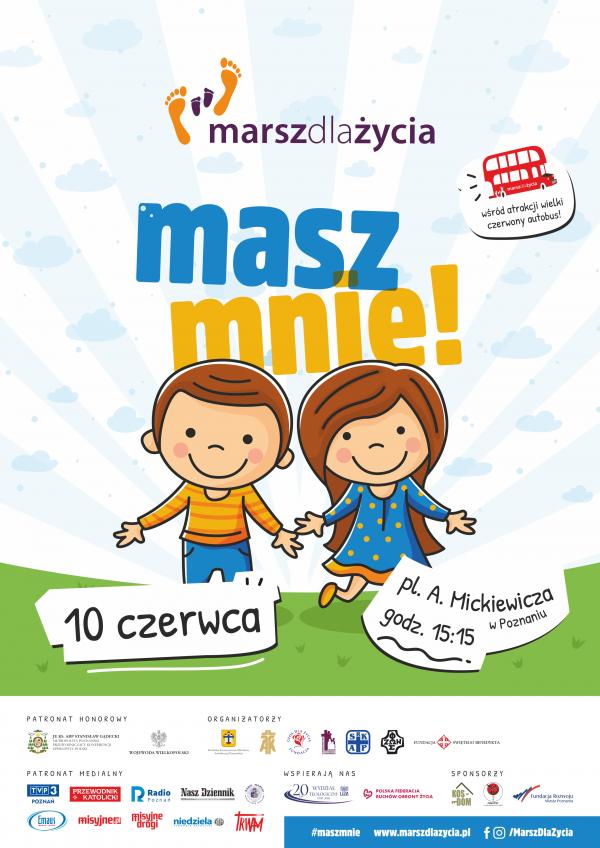 Marsz dla Życia 2018 Poznań
